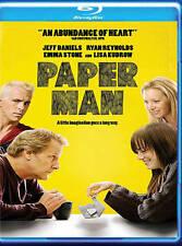 Paper Man (BRAND NEW Blu-ray Disc)Emma Stone, Lisa Kudrow, Jeff Daniels