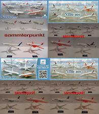 1 KOMPLETTSATZ DUTY FREE + aller BPZ Ihrer Wahl aus der Airbus A330-300 Reihe