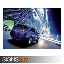 AUDI Q5 3.0 TDI QUATTRO CAR (AC984) CAR POSTER - Poster Print Art A0 A1 A2 A3
