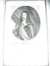 LUIGI XIII - 1786 PALAIS ROYAL -  PHILIPPE  DE CHAMPAGNE - FRANCIA