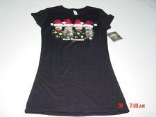 NWT Womens Duck Dynasty Tee Shirt Christmas Holiday Black Cute Top Hunt Comedy