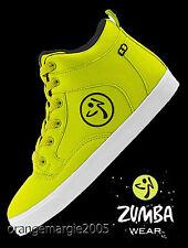ZUMBA STREET Fresh HIGH TOP Shoes Trainers~Orlando Boss~Max & ZUMBA'S TOP LINE!