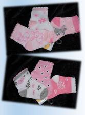 Set 3er Pack Socken Strümpfe Babysocken Hase Häschen Blumen Geschenk Geburt