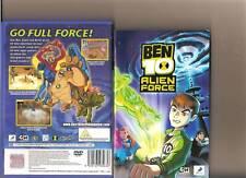 Ben 10 Alien Force Playstation 2 PS2 PS 2