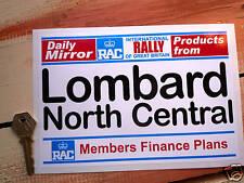 LOMBARD RAC DAILY MIRROR classic rally car sticker