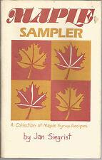 Maple Sampler by Jan Siegrist (1985, Paperback)