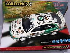 SCALEXTRIC 6124 SKODA OCTAVIA WRC OPEN CATALUNYA 2004 LLUMP LLAMP OF.DRIVER  MB