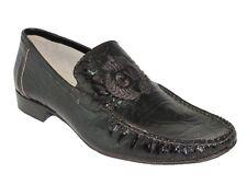 Men's Italian Designer Carlos Ventura Slip On Leather Dressy Shoes 1104