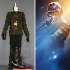 Rainbow Six:Siege jager elite Combat uniform Outfit cosplay costume Full set