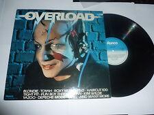 OVERLOAD - 1982 UK 22-track compilation LP