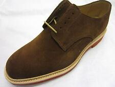 Loake 'Morrison' Caballeros Marrón Gamuza Zapatos Con Cordones
