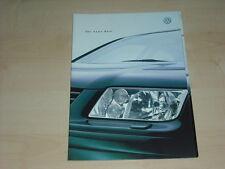 37767) VW Bora Variant technische Daten & Ausstattungen Prospekt 03/1999