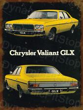 30x40cm GLX Valiant Chrysler Rustic Tin Sign or Decal