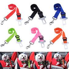 Car Vehicle Safety Seat Belt Restraint Harness Leash Clip for Pet Cat Dog 6Color
