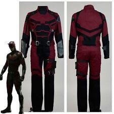 Daredevil Matt Matthew Michael Murdock Coat Suit Cosplay Costume Battle Uniform