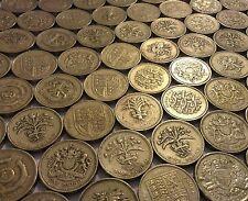 £1 One Pound Coins 1983 to 2015 - Circulated inc Edinburgh, Forth Bridge etc