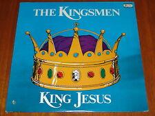 THE KINGSMEN QUARTET - KING JESUS - STILL SEALED LP ! ! ! !
