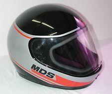 VINTAGE MDS Motorcycle Helmet, Made in Italy