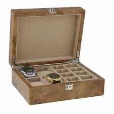Aevitas LUCE Burl Wood Watch Box scegli il tuo Inserzione Multi