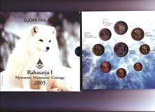 Set Officiel Euro BU  de Suomi Finland 2005 Rahasarja I