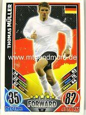 Match Attax Euro EM 2012 - #077 Thomas Müller - Deutschland