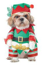 Santa Elf Pup Christmas Helper Dog Pet Costume