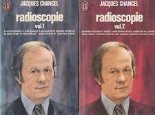 RADIOSCOPIE / VOL. 1 ET 2 / JACQUES CHANCEL / J'AI LU
