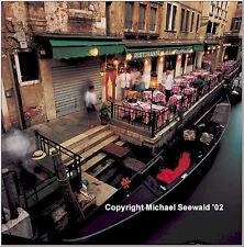 Master photographer Michael Seewald's 'Waiting waiters, Venice, Italy '99 signed