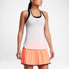 Nike Women's Premier Slam Tank White/Black/Hyper Orange 830396-100