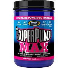 Gaspari Nutrition SuperPump MAX 640 g 40 Ración PREENTRENAMIENTO AUMENTAR