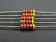 (5) 1/4W 5% Carbon Comp Resistors, Ohmite, Allen Bradley Vintage, NOS, OC series