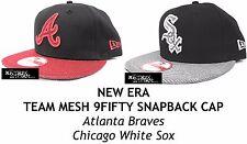 NEW ERA TEAM MESH 9FIFTY SNAPBACK CAP - ATLANTA BRAVES/CHICAGO WHITE SOX