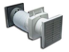 """Intervent 4"""" 100mm Timer/Standard Fan  - Shower Fan Kit"""