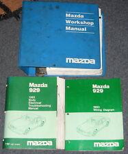 1993 Mazda 929 Service Workshop Manual Set