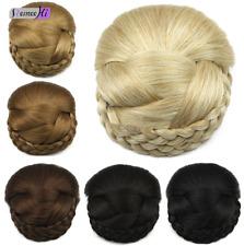 Wedding bridal hairpiece Synthetic Hairpiece Clip-In Hair Buns Hair Pieces Bun