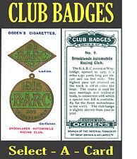Ogden's CLUB BADGES - Select-A-Card