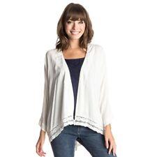 Roxy Life Pursuit Kimono Top Oberteil  weiß cream creme ERJWT03031