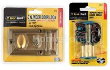 Cylindre serrure de porte de sécurité de sécurité/remplacement clé rim nuit loquet/tonneau
