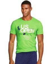 Polo Ralph Lauren RLX Mens Short Sleeve US Open Tennis Big Pony Slim Tee Shirt