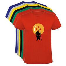 Camiseta Dragon Ball Goku Rey Mono tipo D Hombre varias tallas y colores a016
