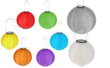 LED Solar Lampion versch. Farben Ø 20 oder Ø 30 cm Gartenlampion