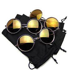 Multiple Pair Sunglasses Pack Shades BUNDLE Sunglasses Flash Mirror Mirrored Sun