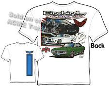 Pontiac Shirts Firebird T Shirt Pontiac Clothing Tee 67 68 69 1967 1968 1969