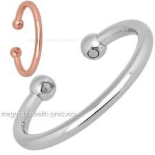 UOMO DONNA Magnetico braccialetto GUARIGIONE ORO BRACCIALETTO ARGENTO