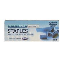 Premier graffe metalliche, 26/6 standard, confezione da 2000 o confezione da 5000
