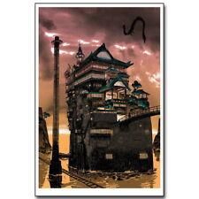 63453 Spirited Away Miyazaki Hayao Anime Wall Print Poster CA