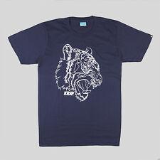 KRSP 3D Tigre T-Shirt - Blu-taglie-S, M, L & XL URBAN STREETWEAR FASHION
