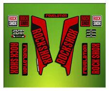 PEGATINAS HORQUILLA ROCK SHOX REVELATION ELX40 STICKERS AUFKLEBERS AUTOCOLLANTS