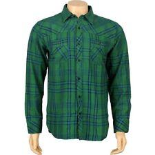 JSLV Goodtimes Flannel Long Sleeve Shirts (pine) MWV8001PINE