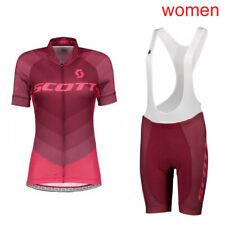 2019 bike Cycling uniform Women Cycling Jersey Bib Shorts Set Bicycle sportswear